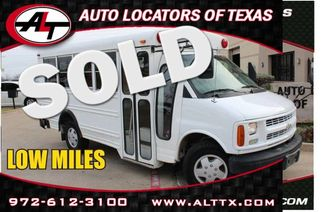 2002 Chevrolet Commercial Vans G30 Series | Plano, TX | Consign My Vehicle in  TX