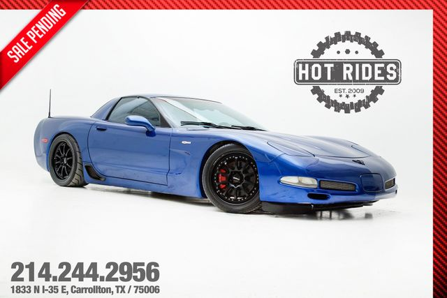 2002 Chevrolet Corvette Z06 With Upgrades