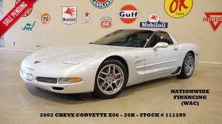 2002 Chevrolet Corvette Z06 Coupe 6 SPD,CAM,HEADERS,HUD,LTH,26K in Carrollton, TX 75006