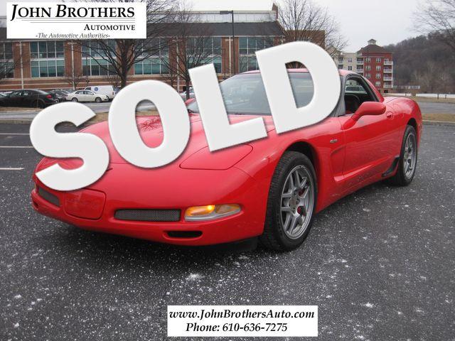 2002 Sold Chevrolet Corvette Z06 Conshohocken, Pennsylvania