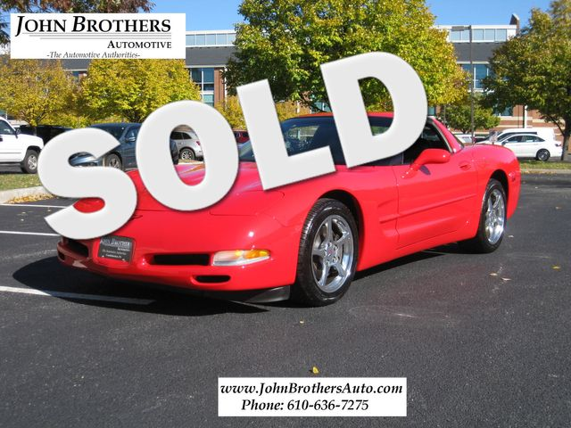 2002 Sold Chevrolet Corvette Conshohocken, Pennsylvania 0