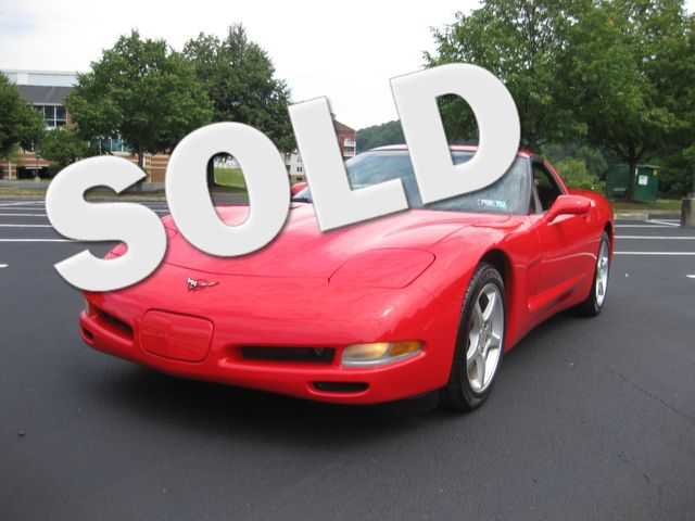 2002 Sold Chevrolet Corvette Conshohocken, Pennsylvania