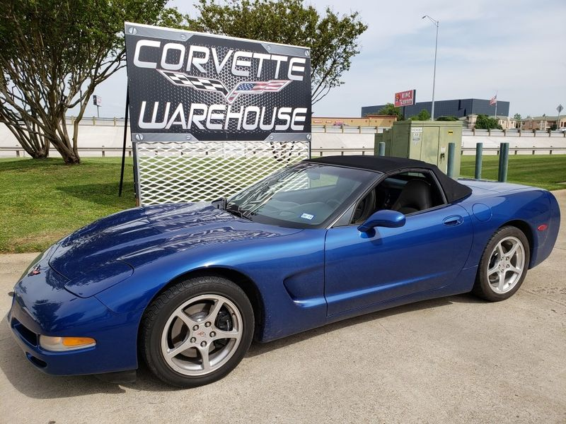 2002 Chevrolet Corvette Convertible Auto Sports Hud Only 59k Dallas Texas Warehouse