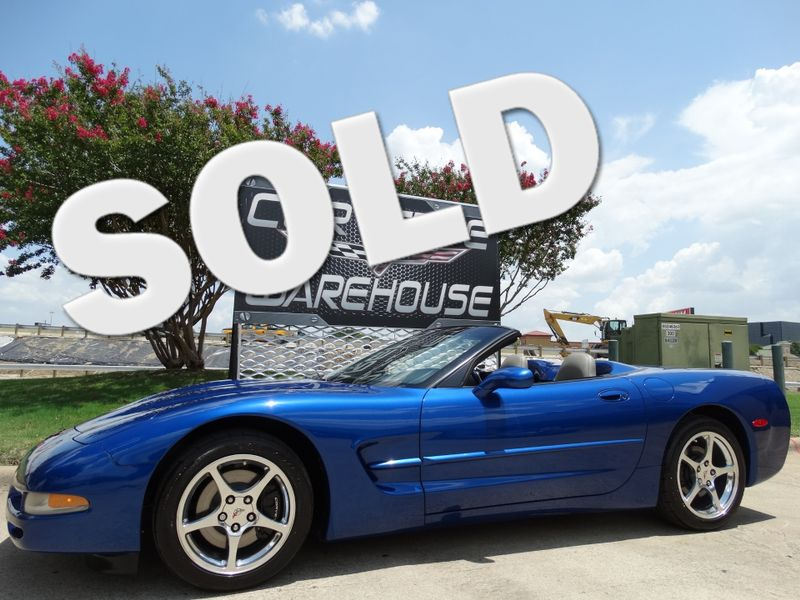 2002 Chevrolet Corvette Convertible HUD, Auto, CD, Polished Wheels 63k   Dallas, Texas   Corvette Warehouse