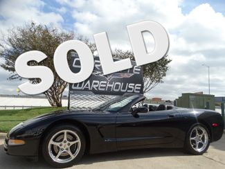 2002 Chevrolet Corvette Convertible Auto, HUD, CD, Polished Wheels 50k! | Dallas, Texas | Corvette Warehouse  in Dallas Texas