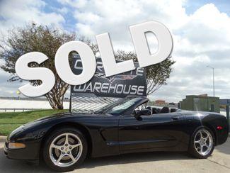 2002 Chevrolet Corvette Convertible Auto, HUD, CD, Polished Wheels 50k! | Dallas, Texas | Corvette Warehouse  in Dallas Texas