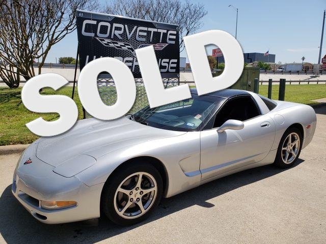2002 Chevrolet Corvette Coupe Auto, HUD, Glass Top, Polished Wheels 68k! | Dallas, Texas | Corvette Warehouse  in Dallas Texas