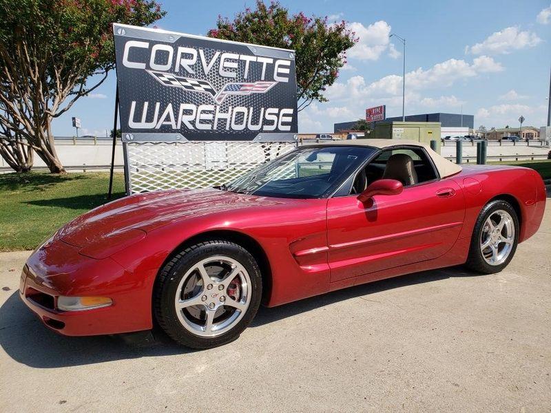 2002 Chevrolet Corvette Convertible 1SB, Auto, Corsa, Chrome Wheels 66k! | Dallas, Texas | Corvette Warehouse