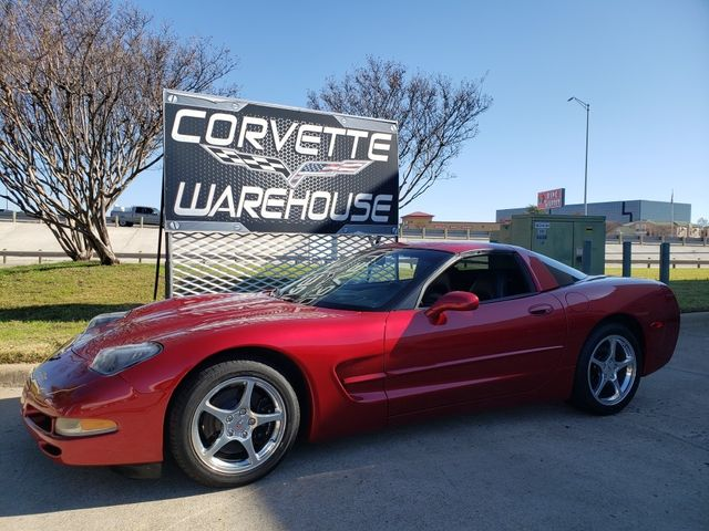 2002 Chevrolet Corvette Coupe 1SB, Auto, Pioneer CD, Polished Wheels 78k