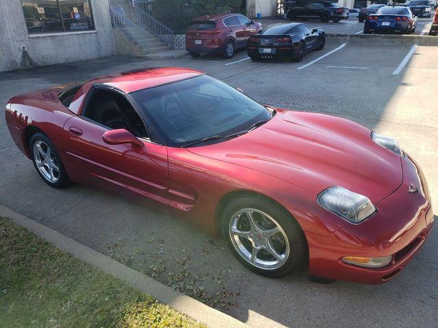 2002 Chevrolet Corvette Coupe 1SB, Auto, Pioneer CD, Polished Wheels 78k in Dallas, Texas 75220