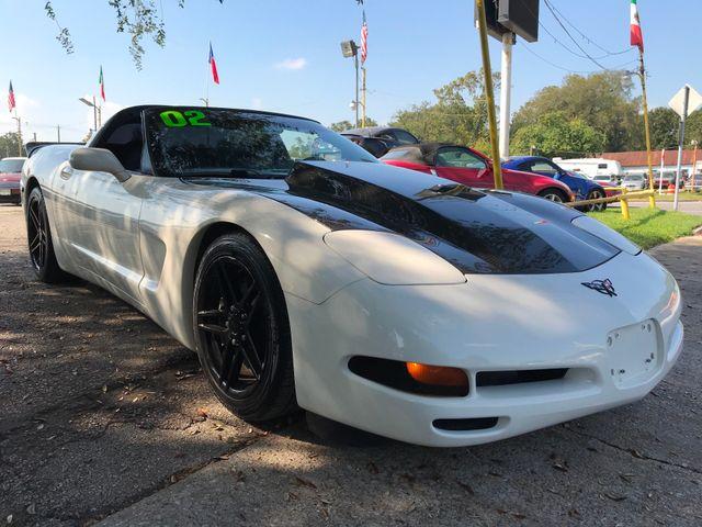 2002 Chevrolet Corvette Coupe Houston, TX 8