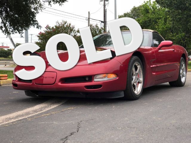 2002 Chevrolet Corvette Convertible in San Antonio TX, 78233