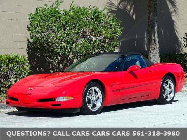 2002 Chevrolet Corvette Convertible In West Palm Beach Florida 33407