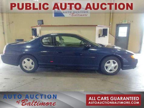 2002 Chevrolet Monte Carlo SS   JOPPA, MD   Auto Auction of Baltimore  in JOPPA, MD