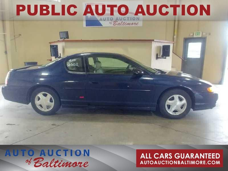 2002 Chevrolet Monte Carlo SS   JOPPA, MD   Auto Auction of Baltimore  in JOPPA MD