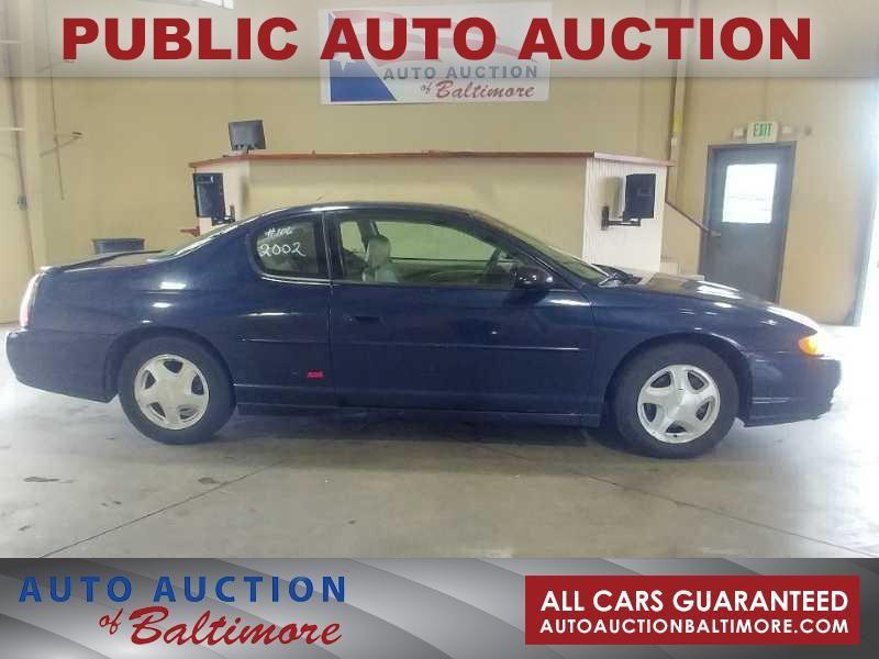 2002 Chevrolet Monte Carlo SS | JOPPA, MD | Auto Auction of Baltimore  in JOPPA MD
