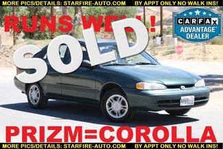 2002 Chevrolet Prizm COROLLA Santa Clarita, CA
