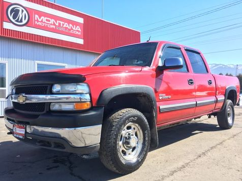 2002 Chevrolet Silverado 2500 HD Crew Cab Short Bed in