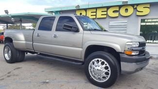 2002 Chevrolet Silverado 3500 DRW LT 4x4 Duramax Diesel in Fort Pierce FL, 34982