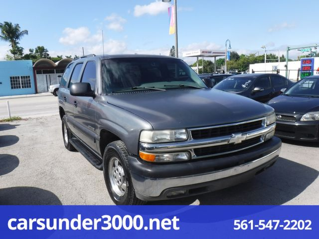 2002 Chevrolet Tahoe LS Lake Worth , Florida 1