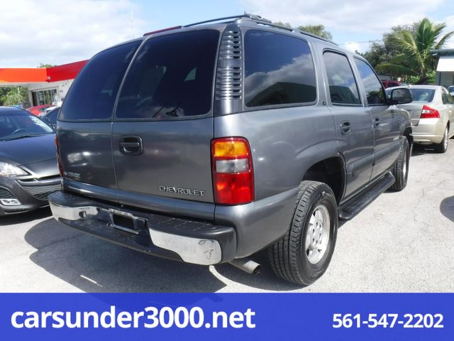 2002 Chevrolet Tahoe LS Lake Worth , Florida 2