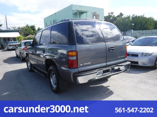 2002 Chevrolet Tahoe LS Lake Worth , Florida 3
