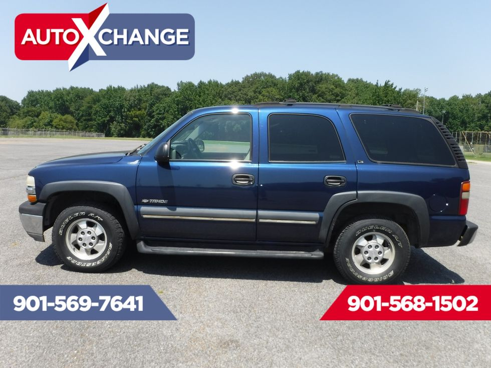 2002 Chevrolet Tahoe Ls 4x4 Memphis Tn Auto Xchange South