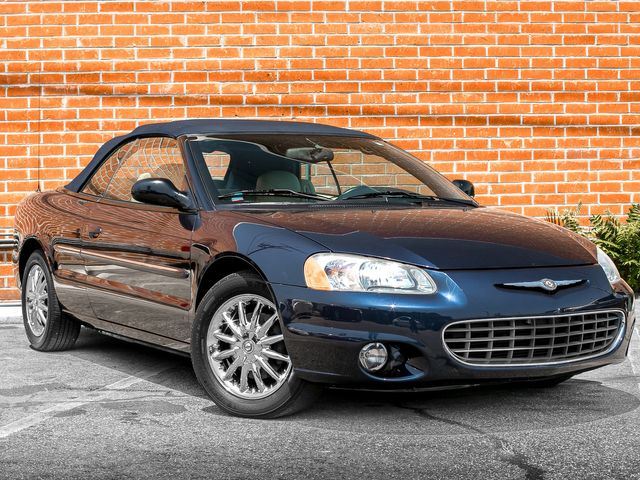 2002 Chrysler Sebring Limited Burbank, CA 0