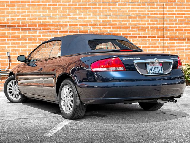 2002 Chrysler Sebring Limited Burbank, CA 8