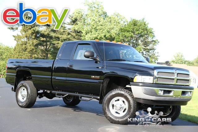 2002 Dodge Ram 2500 Slt 5.9L DIESEL 129K ORIGINAL MILES 2-OWNER 4X4