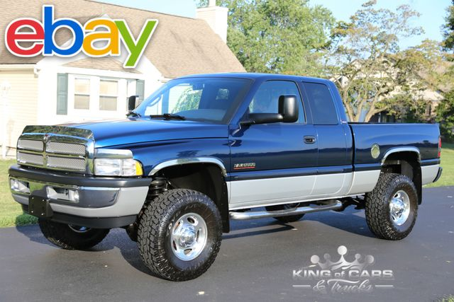 2002 Dodge Ram 2500 Slt 5.9L DIESEL ONLY 29K ACTUAL MILES 1-OWNER 4X4 LARAMIE