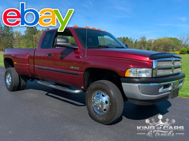 2002 Dodge Ram 3500 Drw 5.9L DIESEL 6-SPD 92K 2 OWNER 4X4 RARE in Woodbury, New Jersey 08093