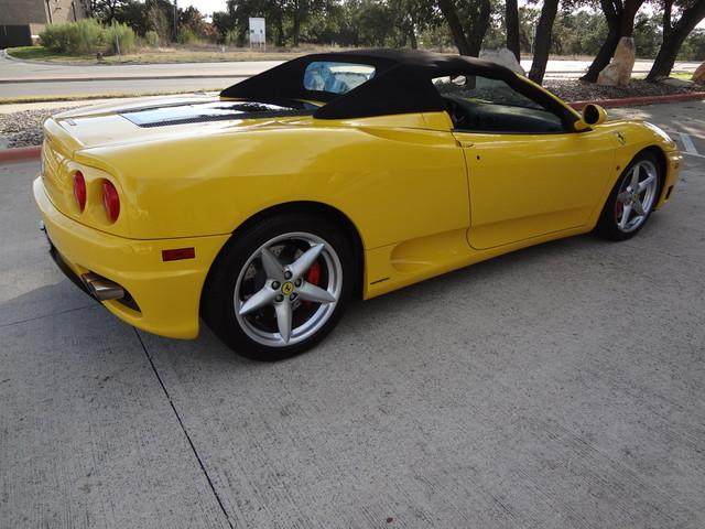 2002 Ferrari 360 Spider Austin , Texas 9