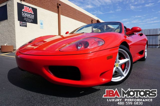 2002 Ferrari 360 Spider 6-SPEED GATED MANUAL TRANSMISSION