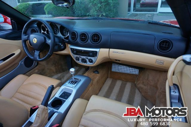 2002 Ferrari 360 Spider 6-SPEED GATED MANUAL TRANSMISSION in Mesa, AZ 85202