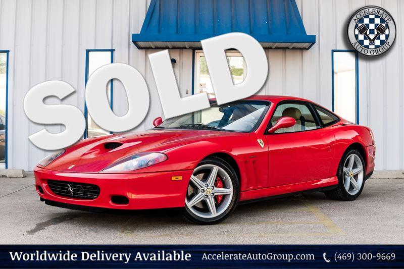 2002 Ferrari 575M Maranello F1 TRANS TUBI EXHAUST METICULOUSLY MAINTAINED! in Rowlett Texas