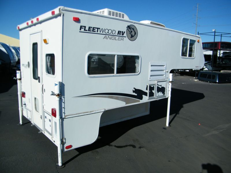 2002 Fleetwood Angler 8B Truck Camper  in Surprise AZ
