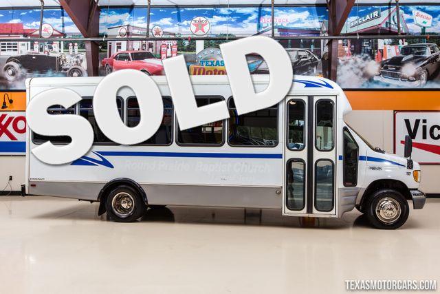 2002 Ford Econoline Commercial Cutaway Starcraft Allstar Bus