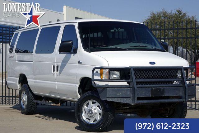 2002 Ford E350 XLT 4x4 15 Passenger