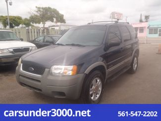 2002 Ford Escape XLT Choice Lake Worth , Florida 2