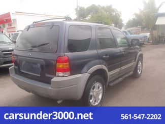 2002 Ford Escape XLT Choice Lake Worth , Florida 1