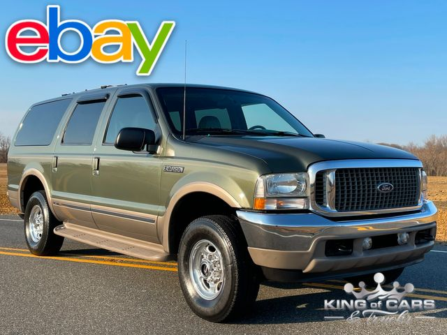 2002 Ford Excursion LIMITED 4X4 LOADED RARE