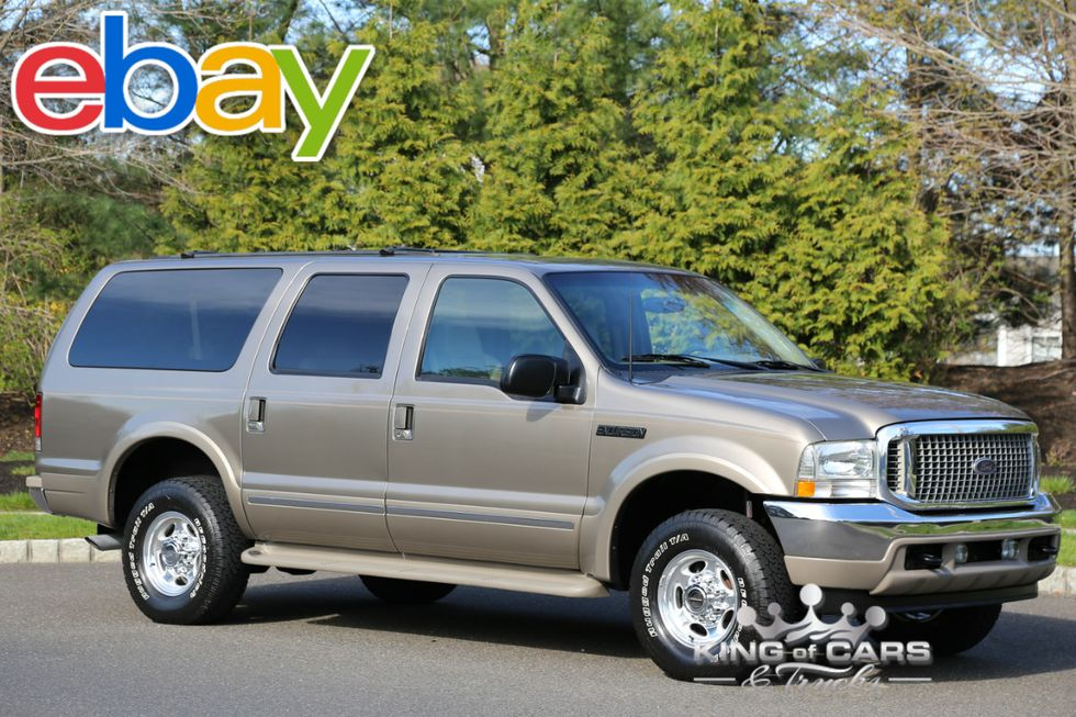 2002 Ford Excursion Limited 7 3l Diesel 75k Original Miles 1owner 4x4 Westville New Jersey King Of Cars And Trucks
