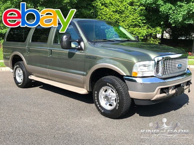 2002 Ford Excursion Limited 7.3l TURBO DIESEL 84K MILES 1-OWNER 4X4
