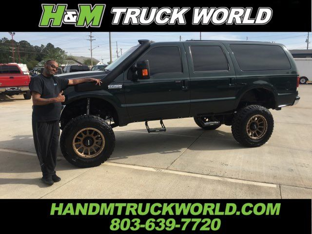 2002 Ford Excursion XLT 4X4 7.3L POWERSTROKE *LIFTED* IMMACULATE in Rock Hill, SC 29730