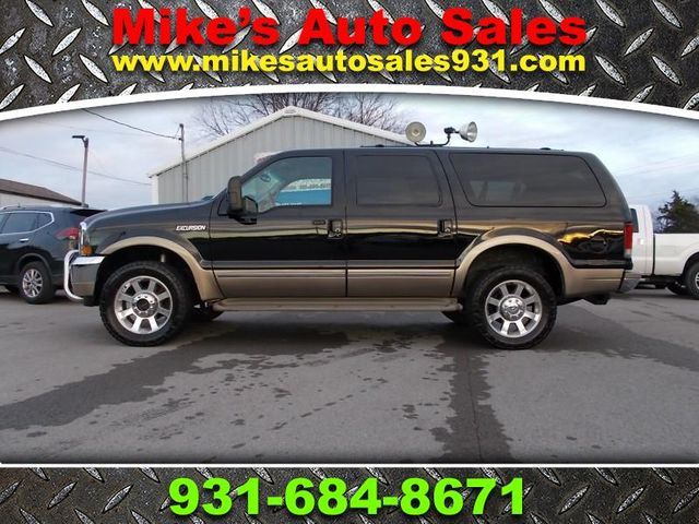2002 Ford Excursion Limited Shelbyville, TN