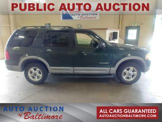 2002 Ford Explorer XLT   JOPPA, MD   Auto Auction of Baltimore  in Joppa MD