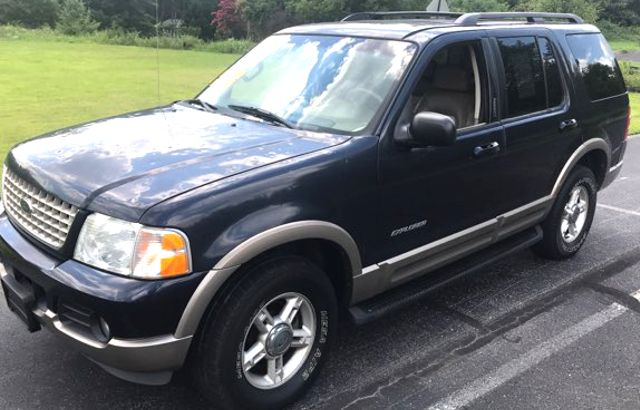 2002 Ford Explorer Eddie Bauer Knoxville, Tennessee 2