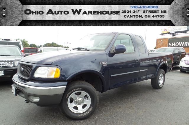 2002 Ford F-150 XLT 4x4 Ext. Cab 1-Owner Clean Carfax We Finance | Canton, Ohio | Ohio Auto Warehouse LLC in  Ohio