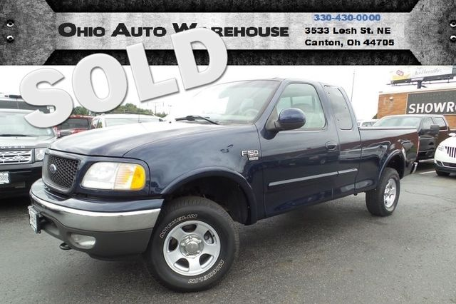 2002 Ford F-150 XLT 4x4 Ext. Cab 1-Owner Clean Carfax We Finance | Canton, Ohio | Ohio Auto Warehouse LLC in Canton Ohio